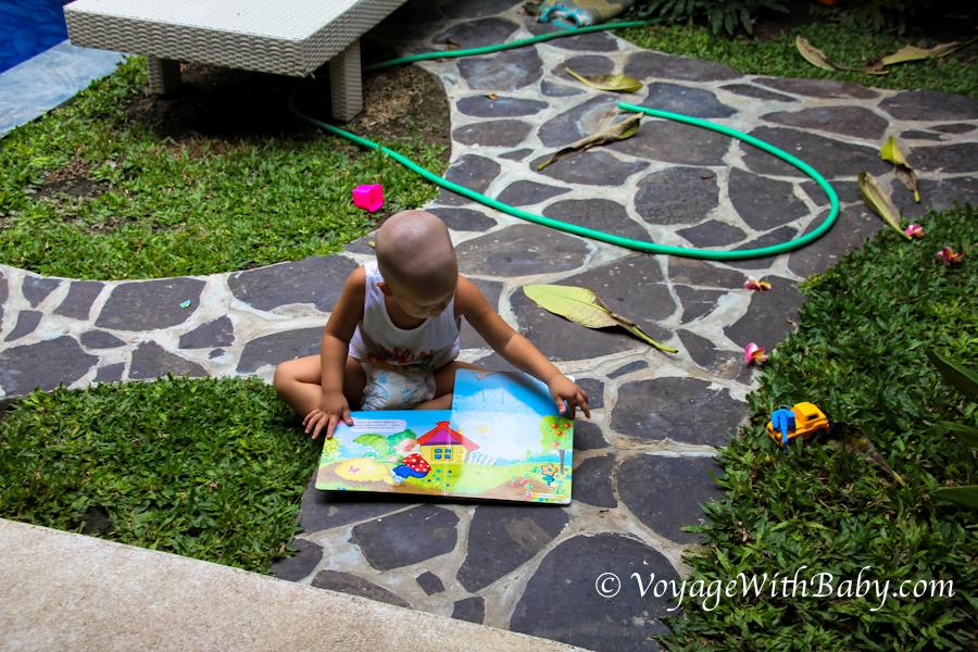 На Бали с маленьким ребенком