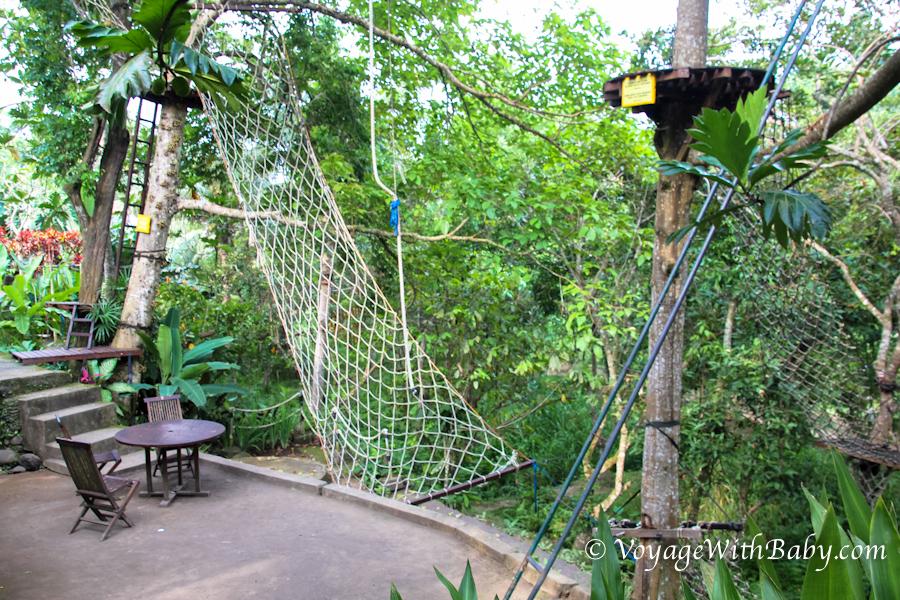 Treewalk в зоопарке Bali Zoo