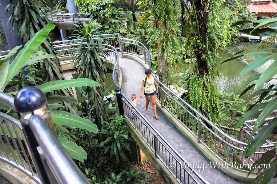 Прогулка по Парку Птиц в Куала Лумпуре