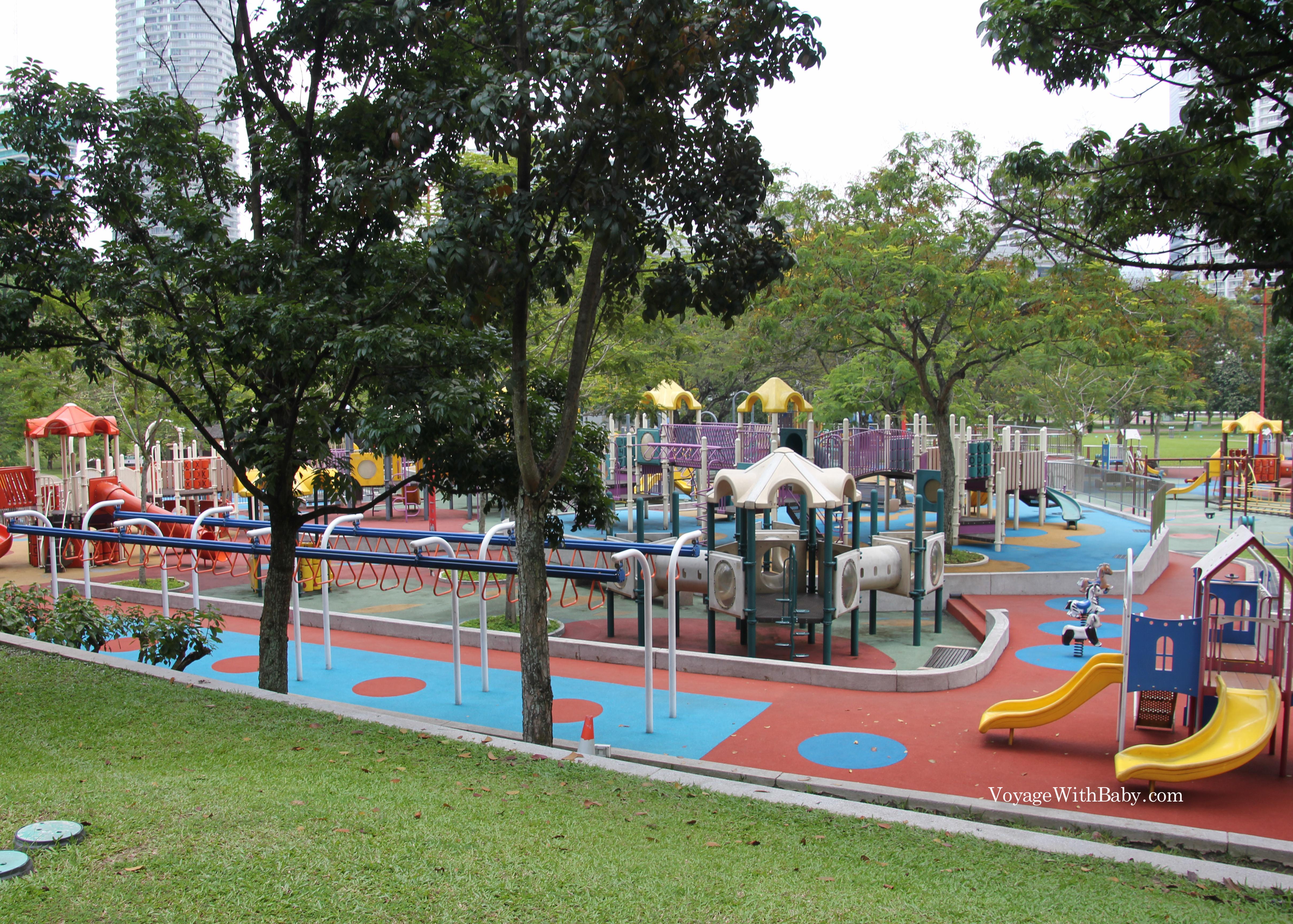 KLCC парк в Куала Лумпуре