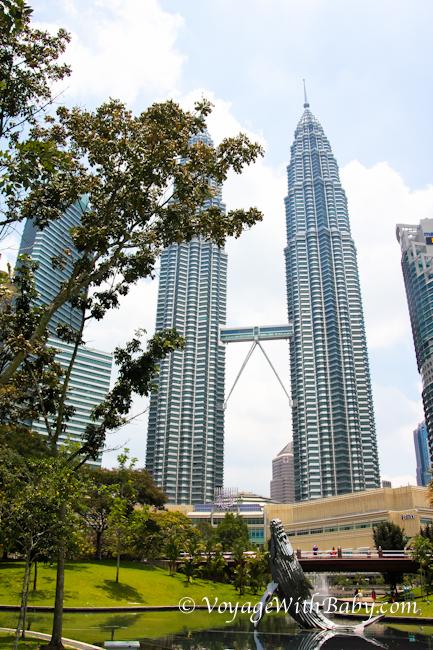 KLCC Park – Центральный Парк в Куала Лумпуре