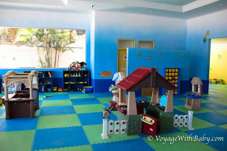 Игровая площадка Peek A Boo в Сануре на Бали