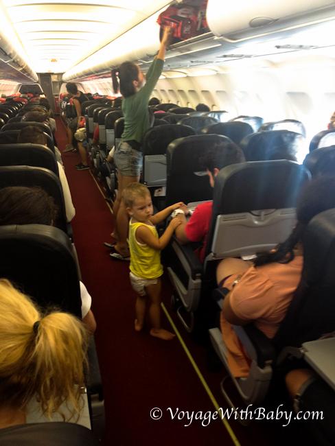 Перелет с ребенком в почти 2 года