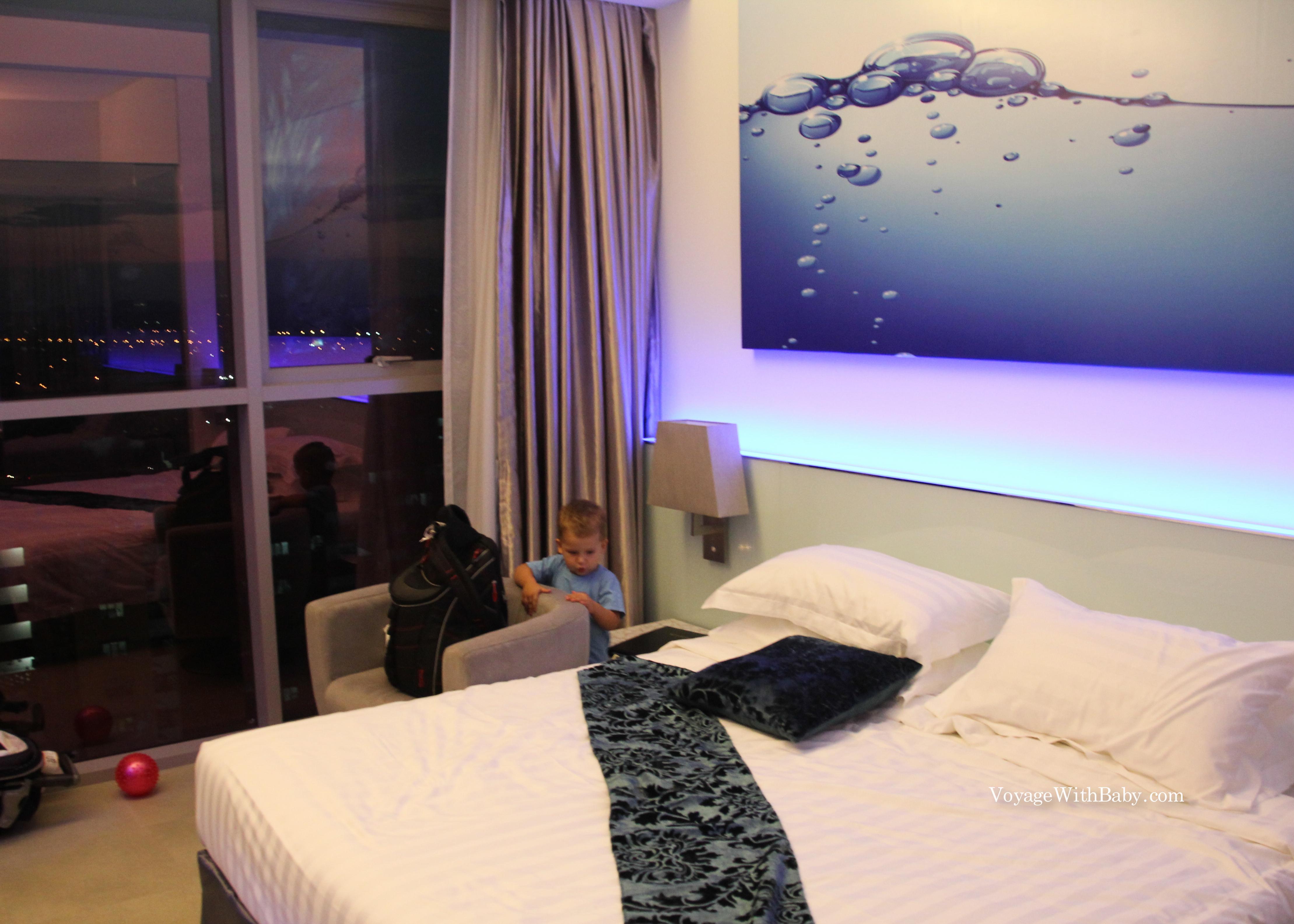 Vivatel отель с маленьким ребенком в Куала Лумпур