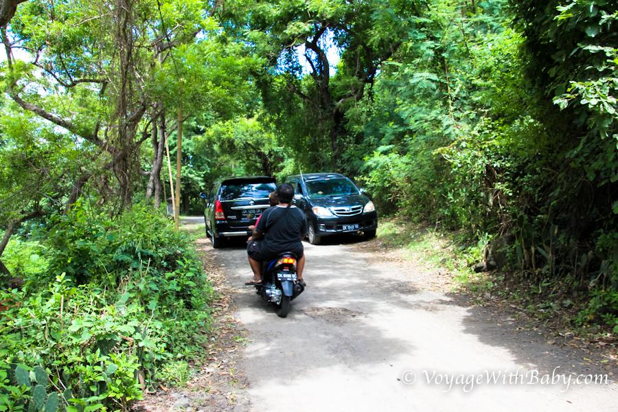Остров Бали, дорога к пляжу White Sand Beach