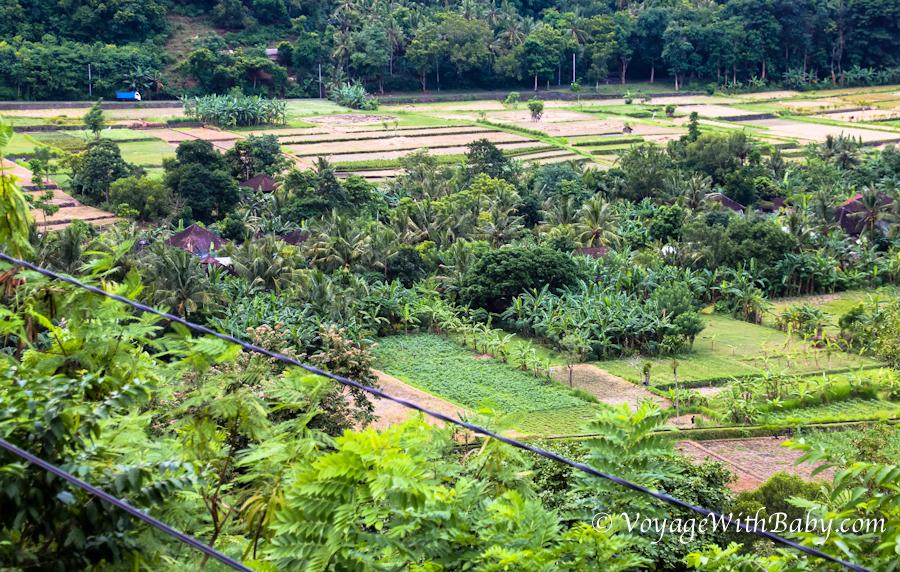 Обзорная площадка на Бали около Чандидасы