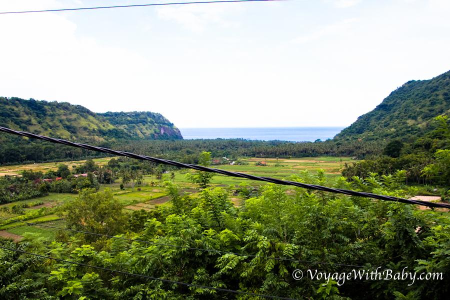 Вьюпоинт на Бали около Чандидасы
