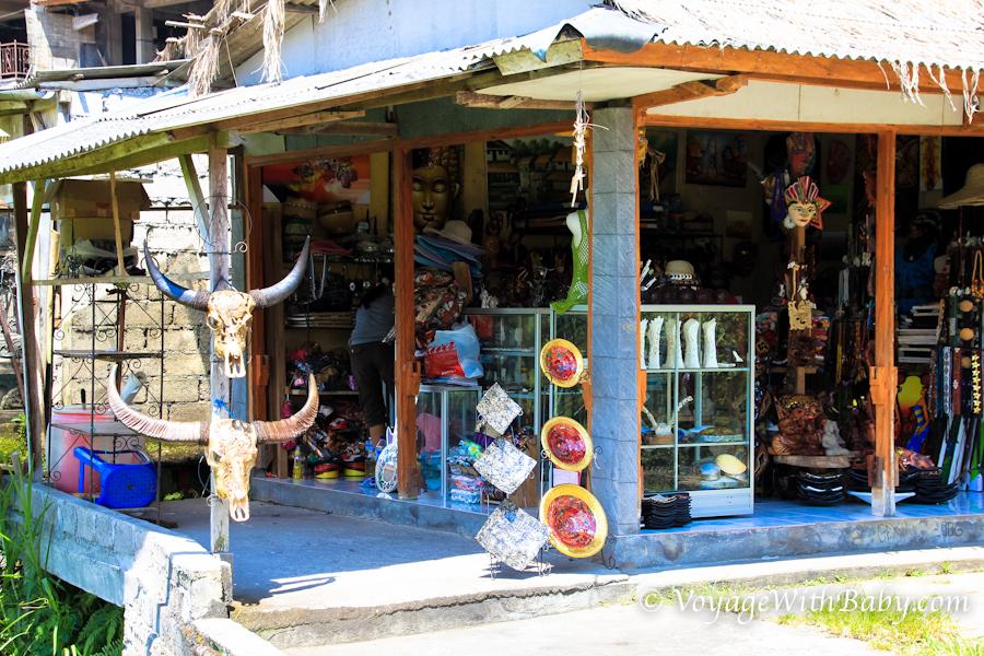 Сувениры в Убуде на Бали