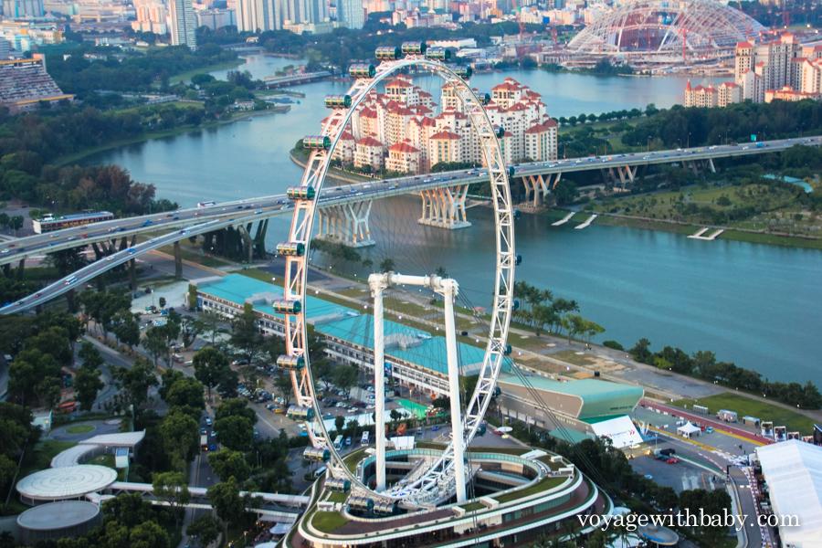 Колесо обозрения в Сингапуре Flyer