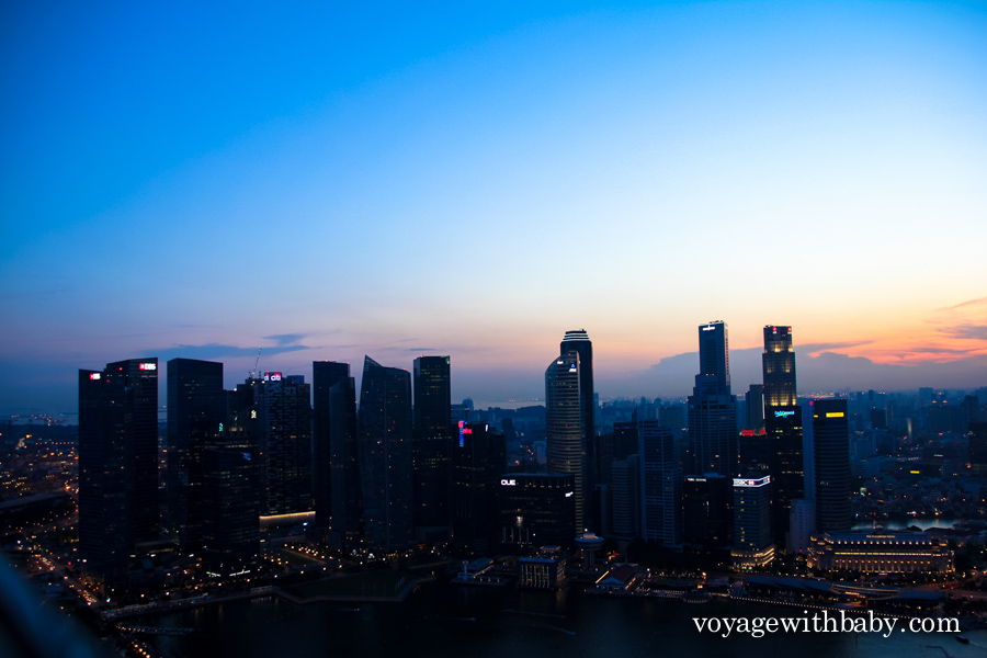 СкайПарк - обзорная площадка в Сингапуре