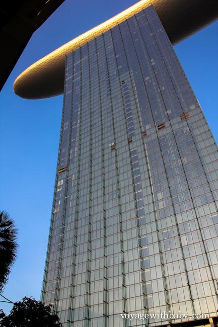 Отель Marina Bay Sands башня номер 3