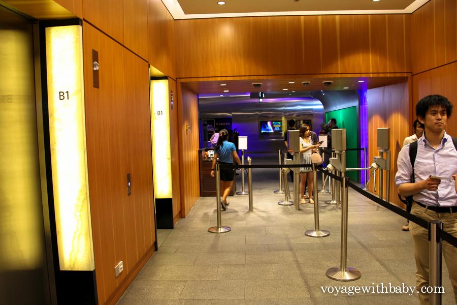 Вход в Marina Bay Sands SkyPark