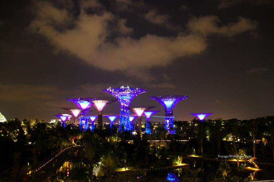 Gardens by the Bay (Парк Марина Сити) - парк, сады, оранжереи и 18 супердеревьев!