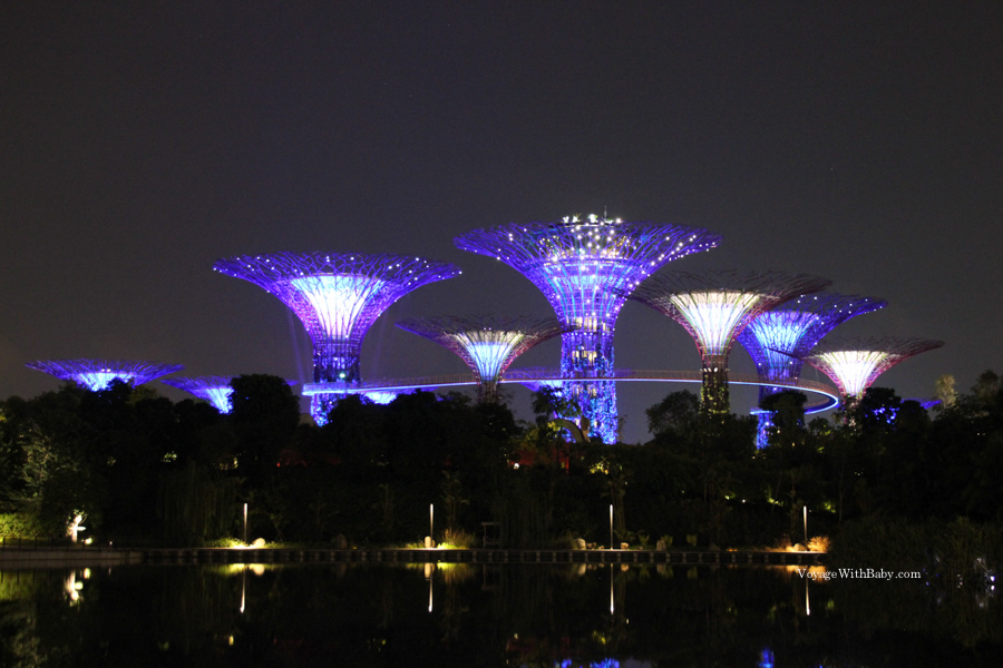 Gardens by the Bay и Супердеревья в Сингапуре