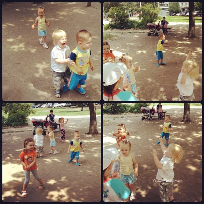 Деткая площадка в Харькове