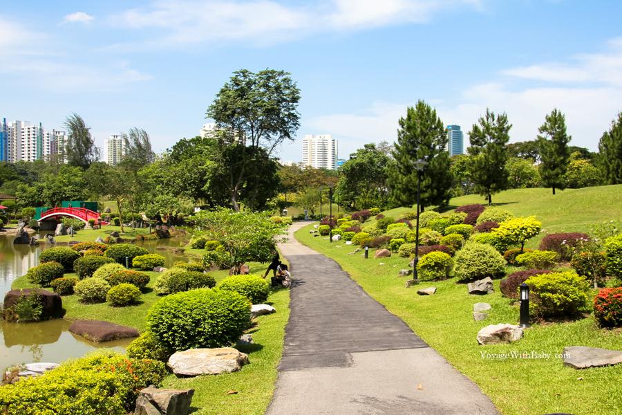 Китайский и японский сады в Сингапуре - Chinese and Japanese Gardens Singapore