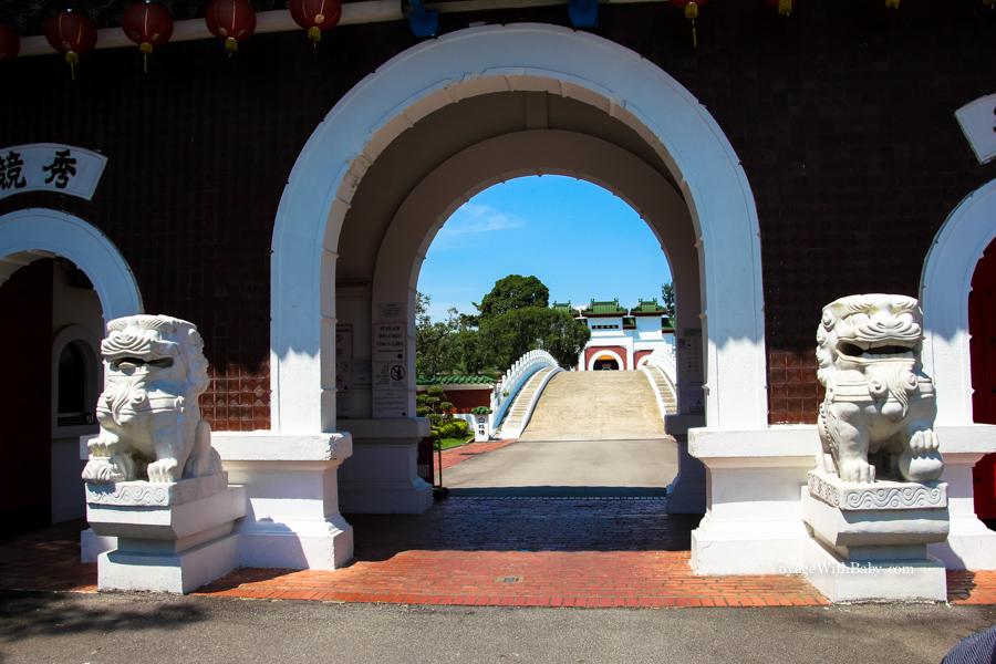 Китайский и японский сады в Сингапуре - вход