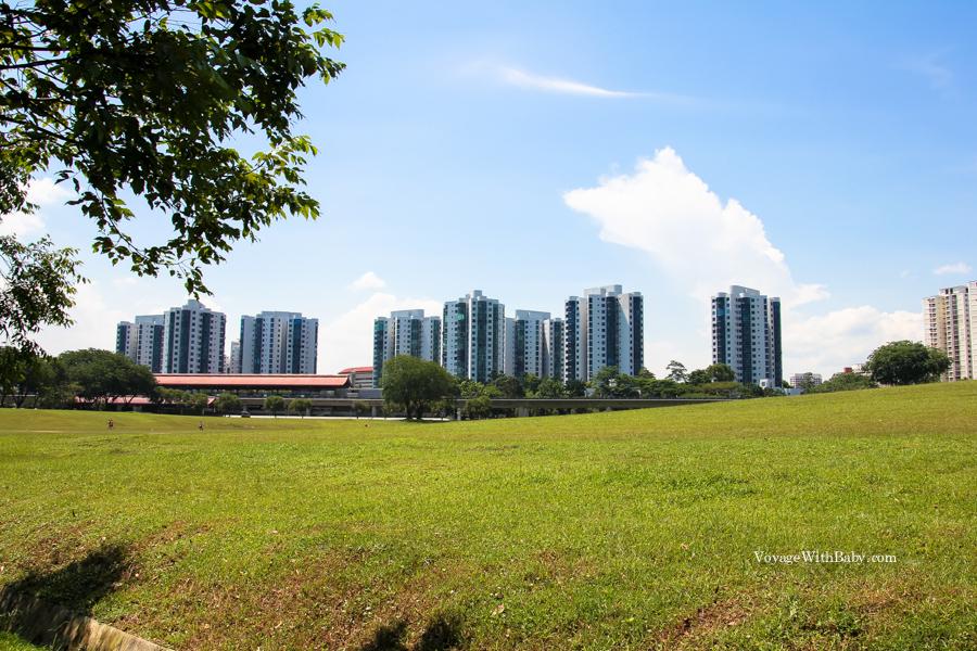 Сингапур - спальный район