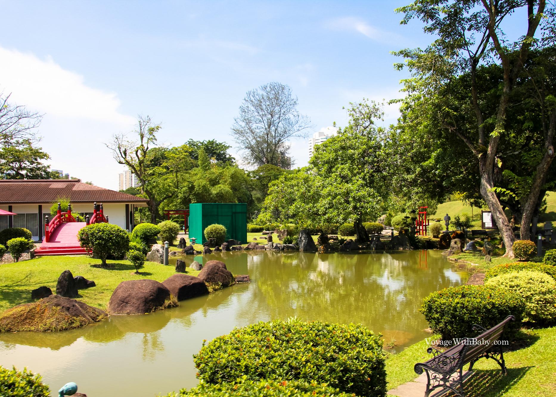 Китайский и японский сады