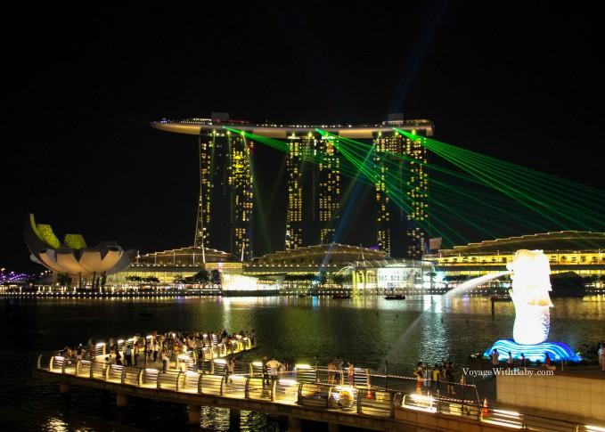 Ночные прогулки по Сингапуру