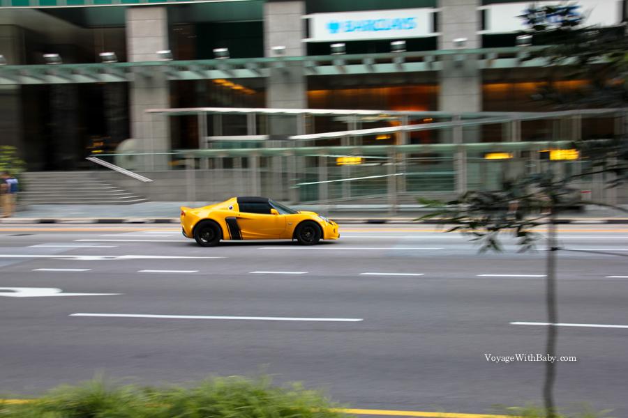 Машины в Сингапуре