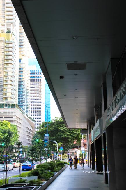 Кондиционеры на улицах в Сингапуре
