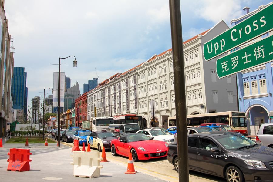 Пробка в Сингапуре - большая редкость!