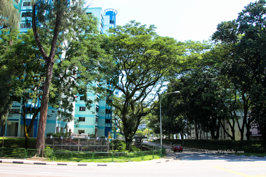 Спальный район Сингапура