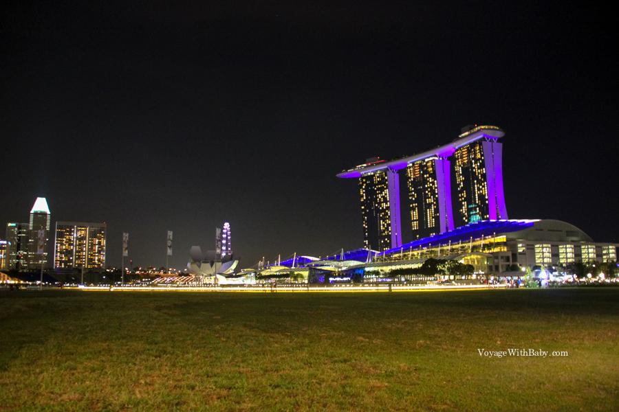 Отель Марина Бэй в Сингапуре