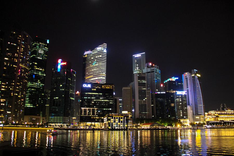 Небоскребы в Сингапуре
