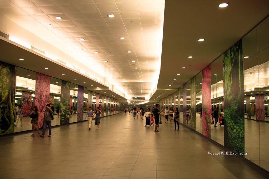 Подземный переход в Сингапуре