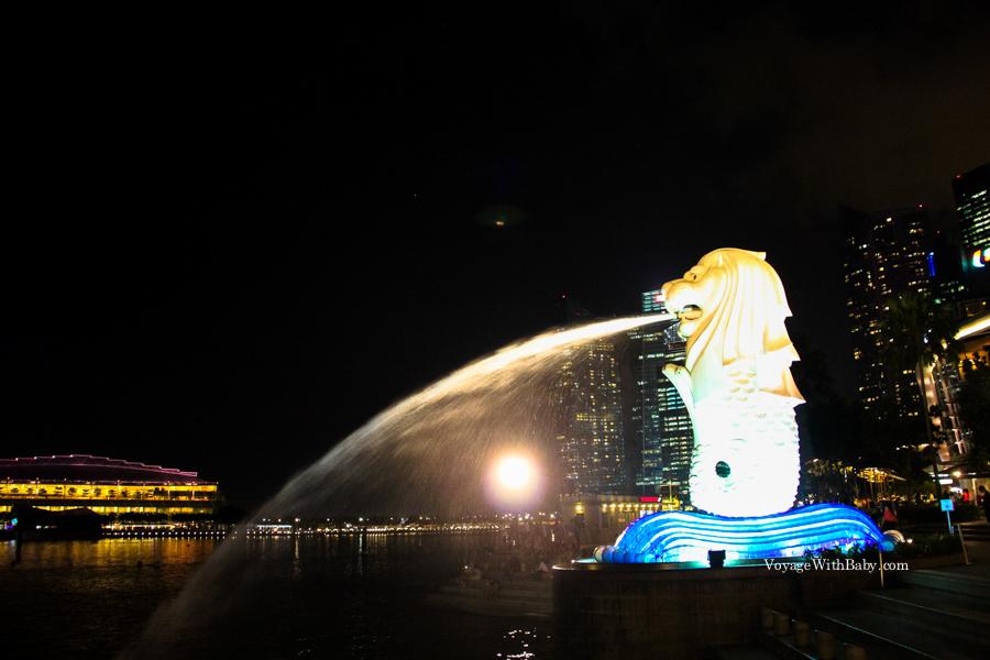 Символ Сингапура Мерлион (Merlion)