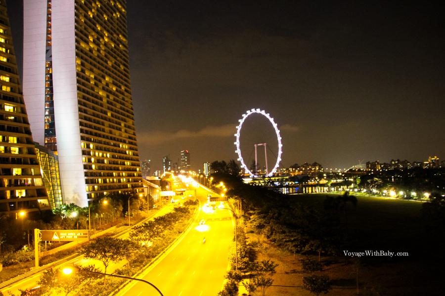 Прогулки по ночному Сингапуру