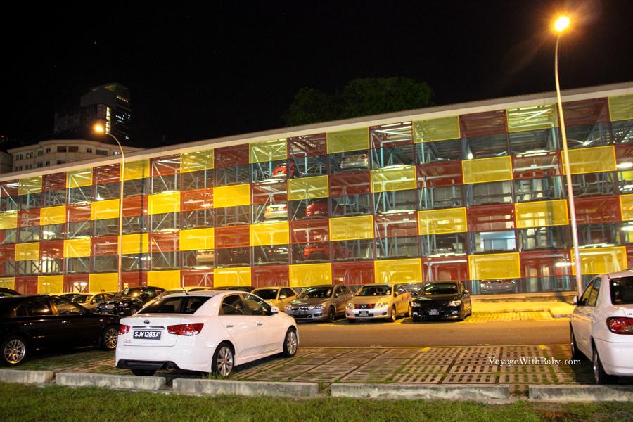 Парковка в Сингапуре