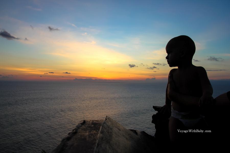 На Бали с ребенком. Улувату
