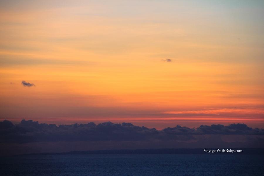 Балийское небо на закате