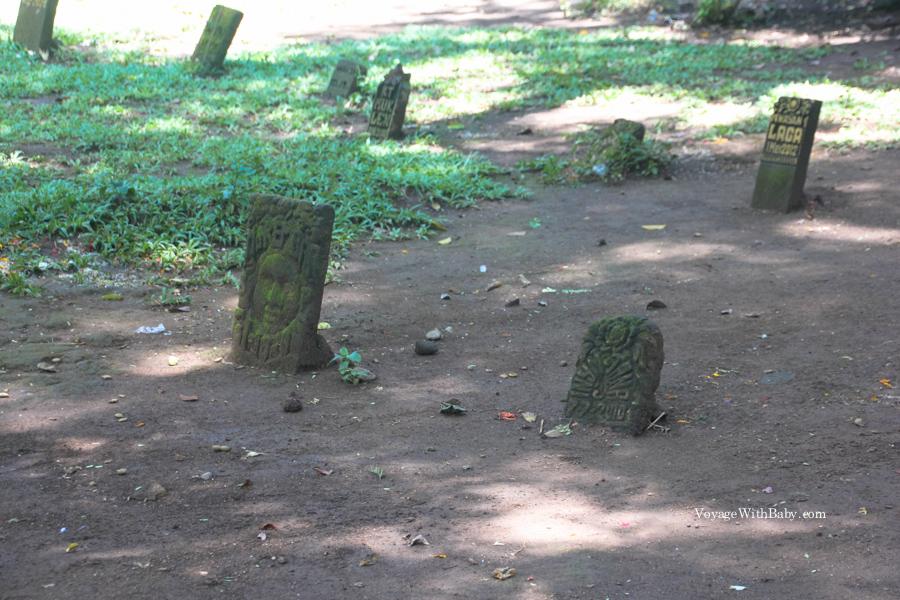 Кладбище в Лесу Обезьян