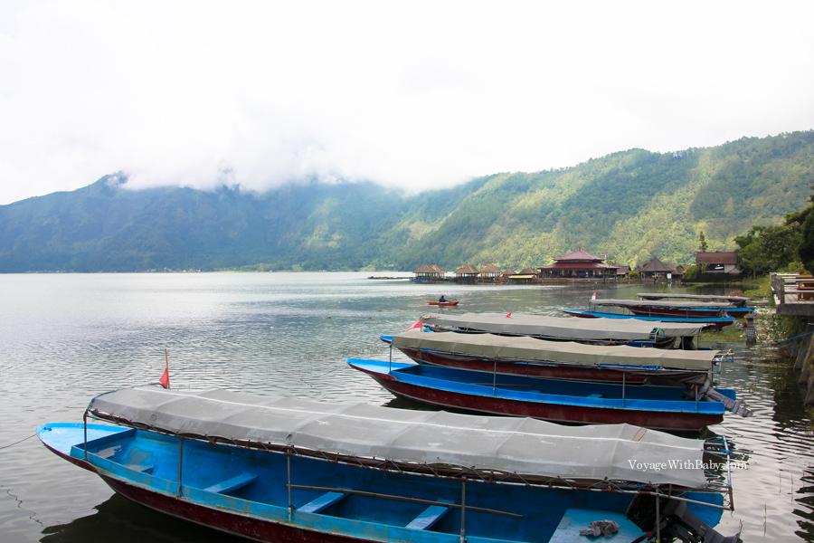 Вулкан Батур на острове Бали