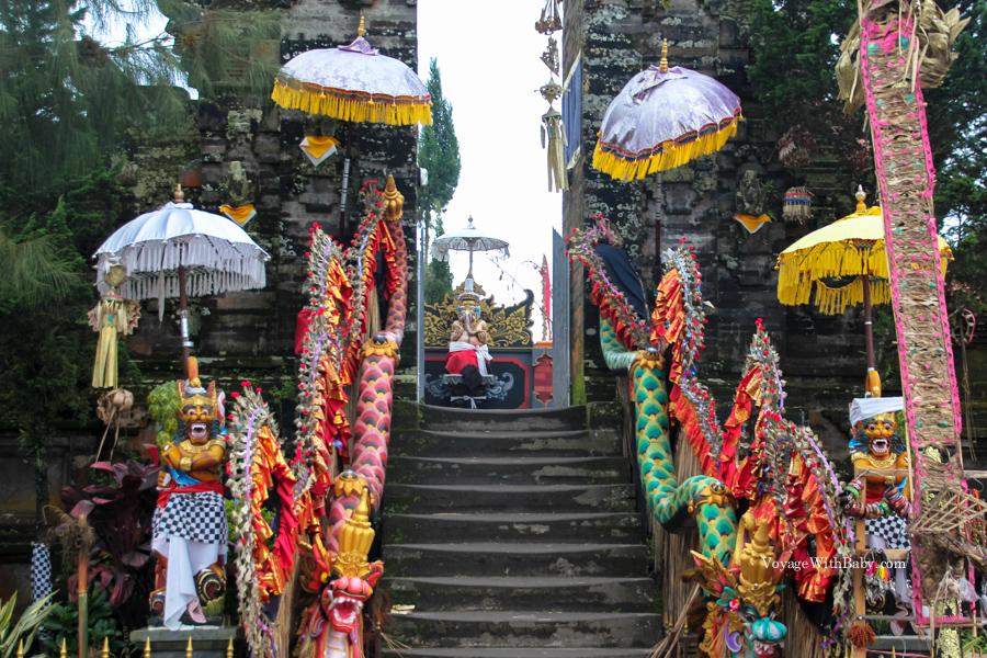 Храм на вулкане Батур на Бали
