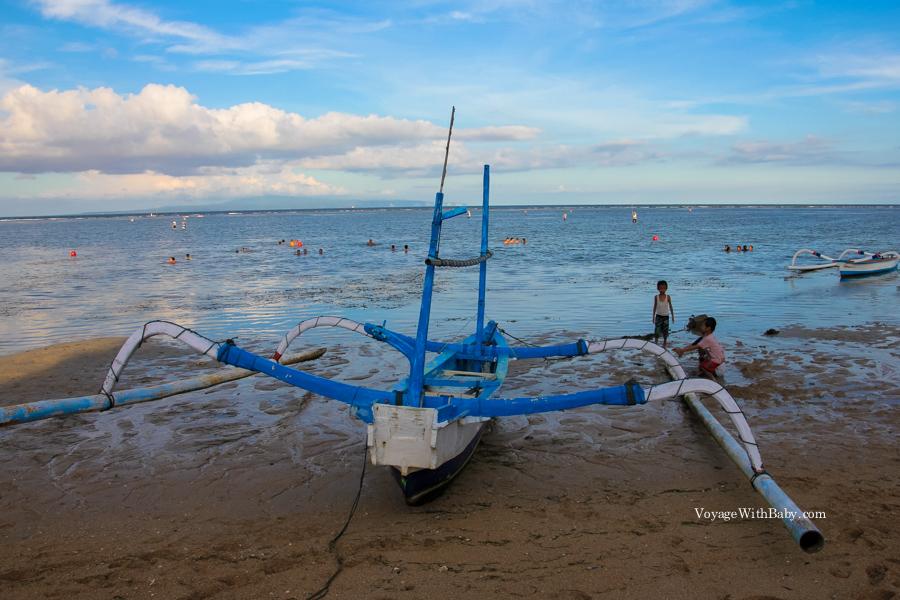 Традиционная балийская лодка