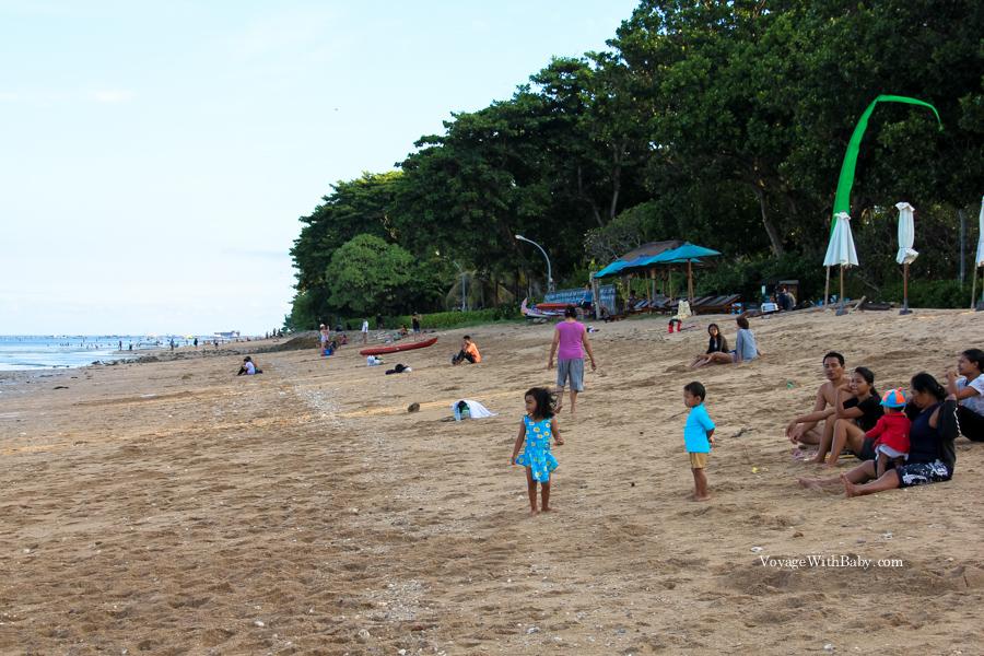 Пляж Санур, остров Бали, Индонезия