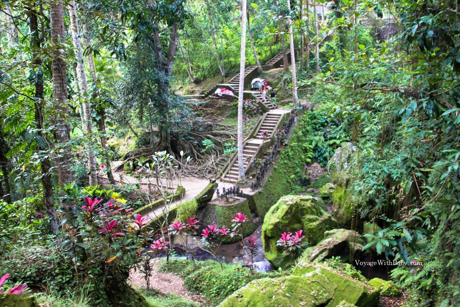 Вид на окрестности храмового комплекса Гоа Гаджа