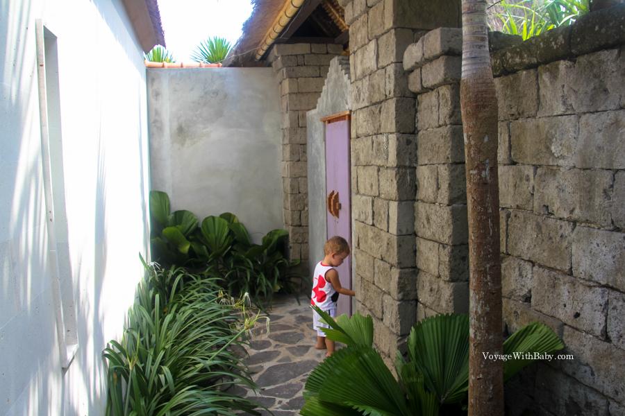 На Бали с ребенком