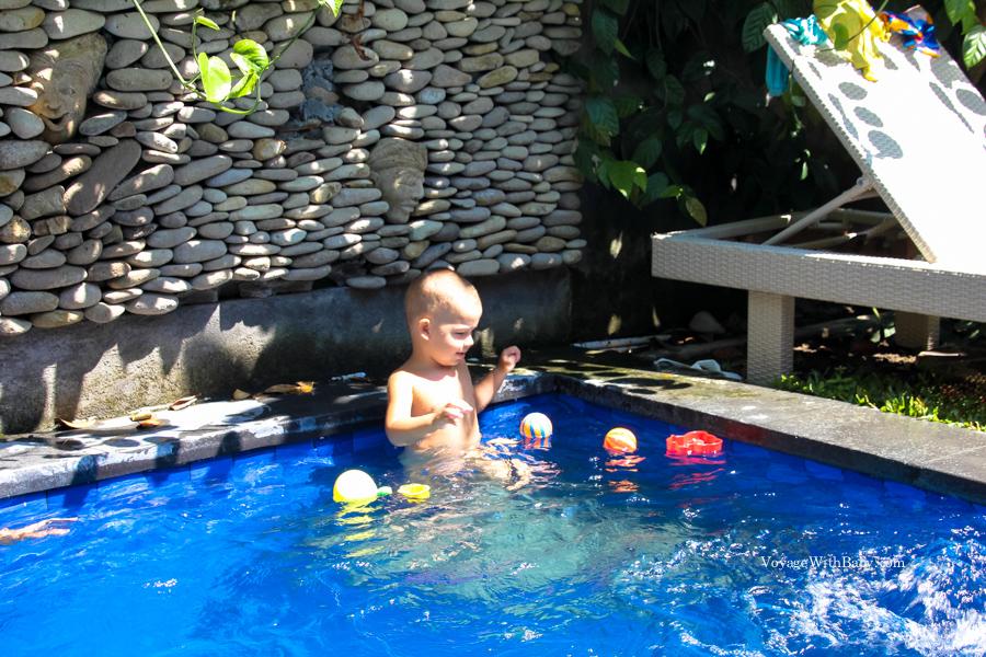 С маленьким ребенком на Бали