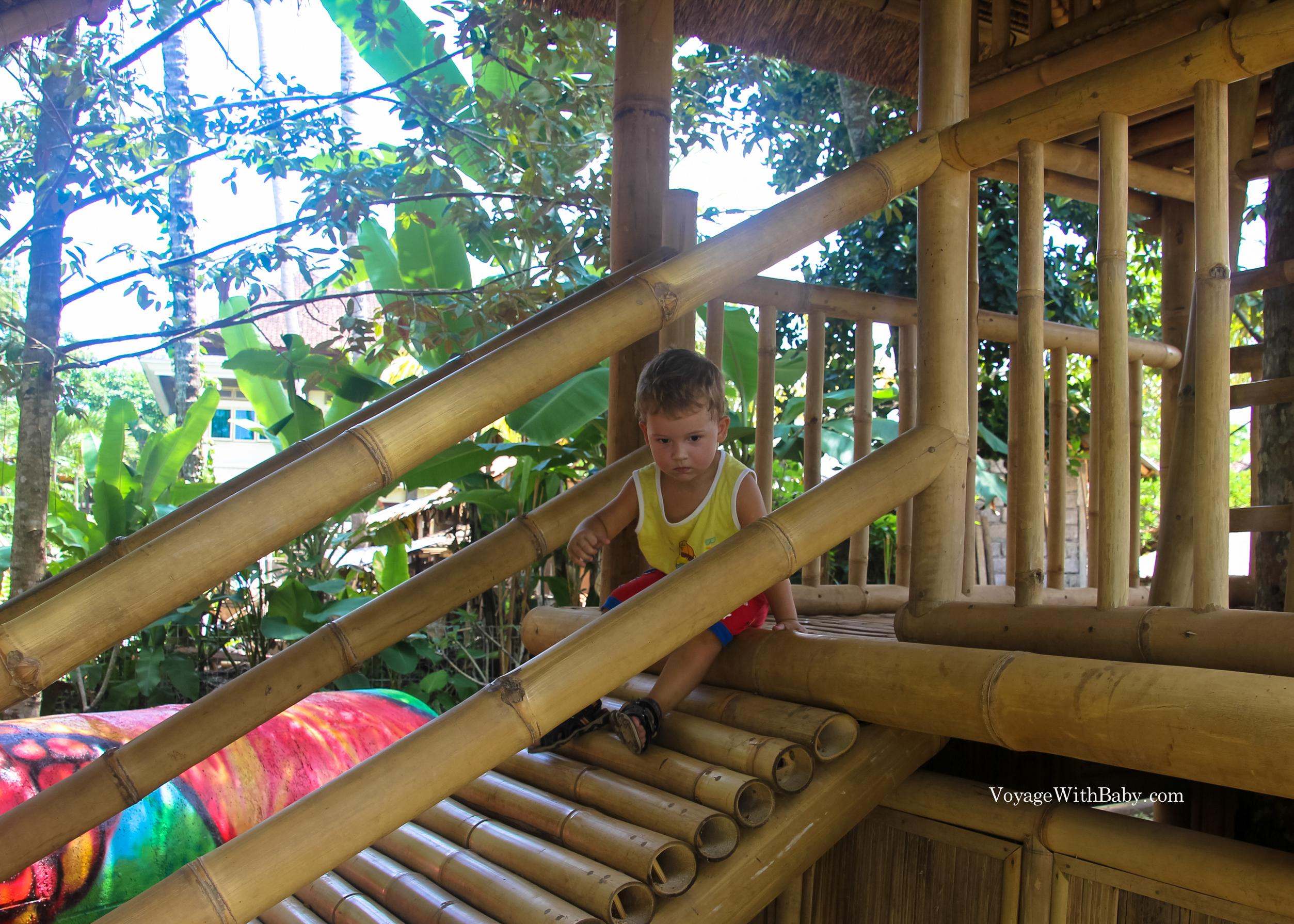Tamanak - детская игровая площадка в Убуде