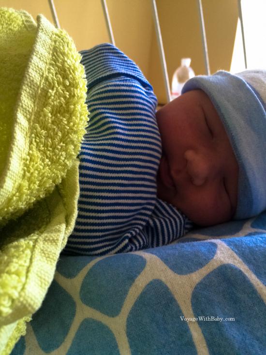 Мой новорожденный сыночек