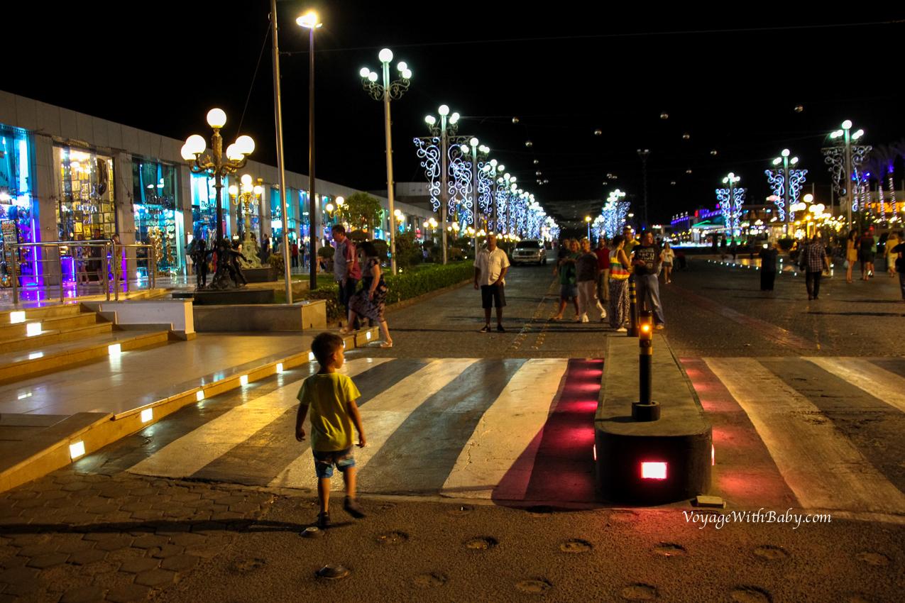 прогулочная улица SOHO Square
