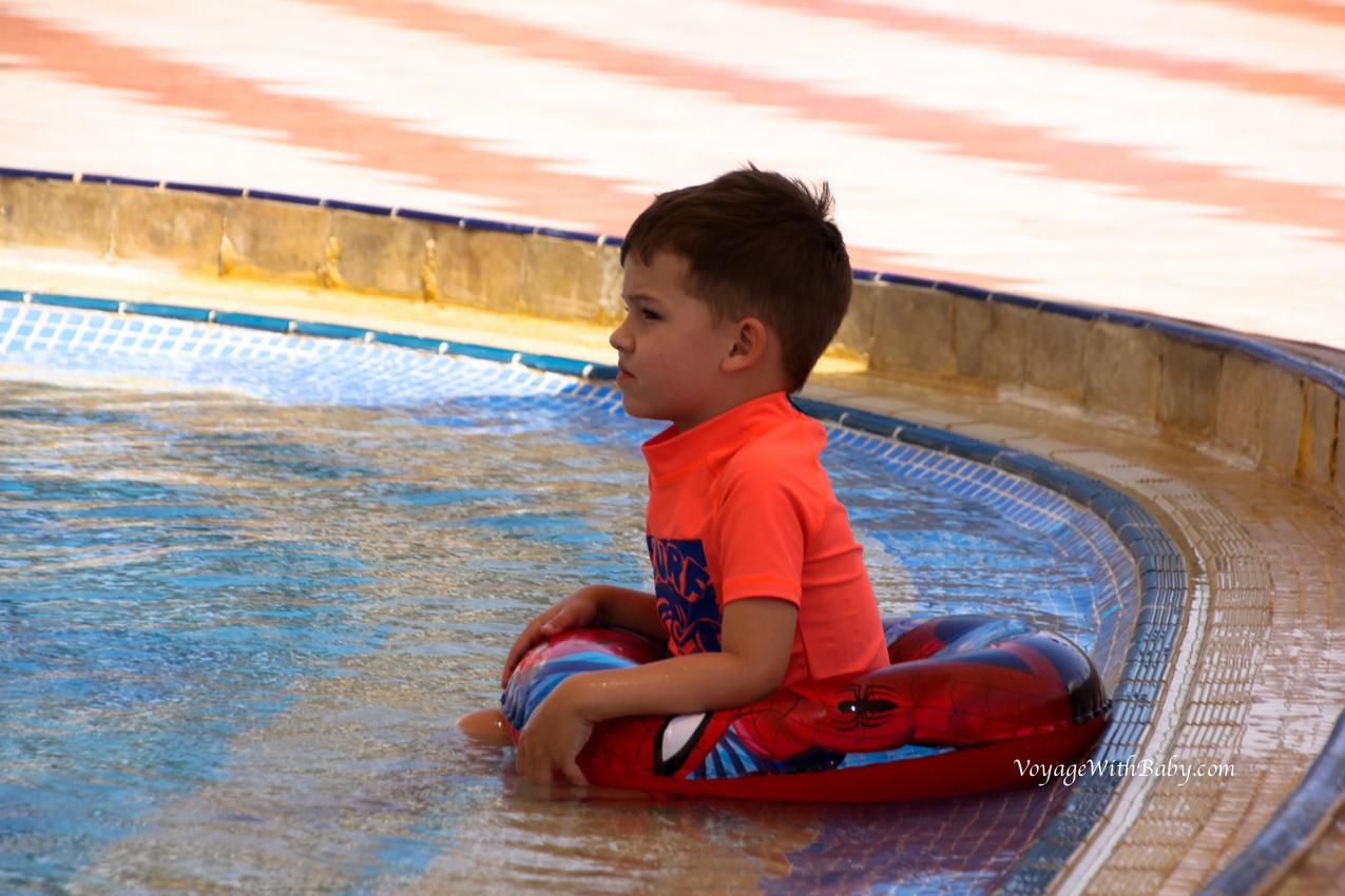 Детский бассейн Concorde El Salam Sport