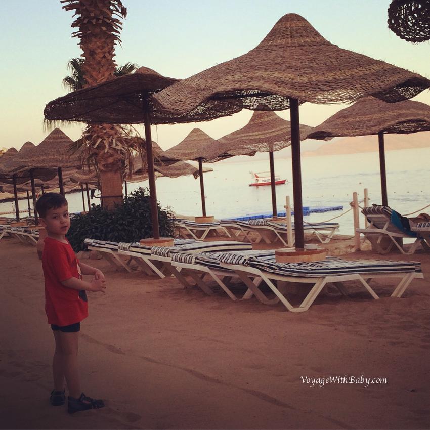 Пляж в Concorde El Salam