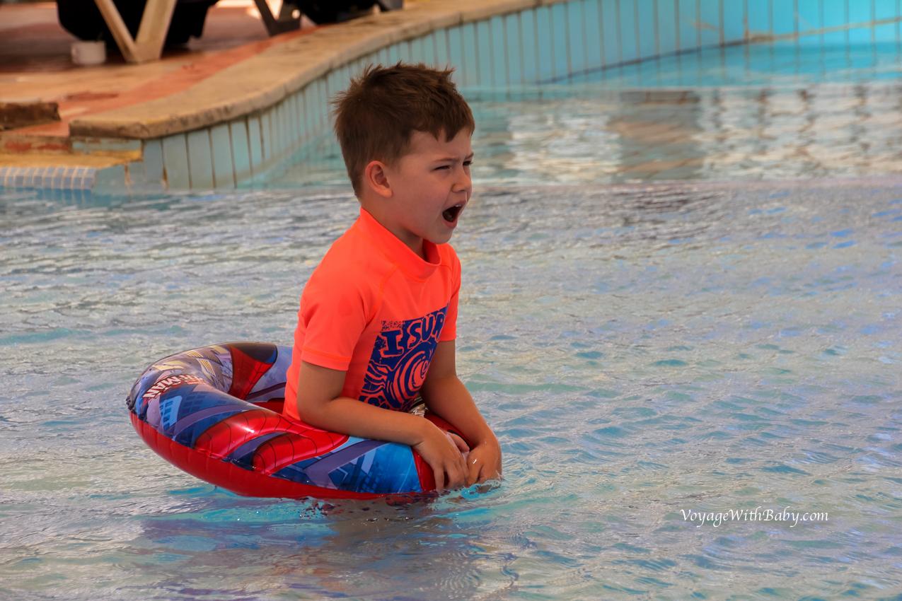 Детский бассейн без подогрева в Concorde el Salam